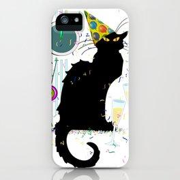 Chat Noir  Party Countdown iPhone Case