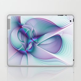 A Colorful Beauty, Abstract Fractal Art Laptop & iPad Skin