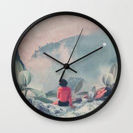Lost in the 17th Dimension Wall Clock