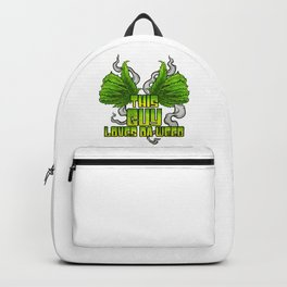 This Guy Loves Da Weed | Cannabis THC CBD Stoner Backpack