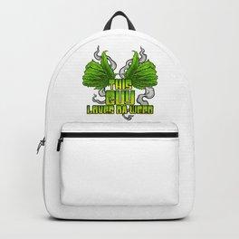 This Guy Loves Da Weed | Cannabis THC CBD Stoner Backpack