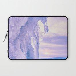 Ice cliff of Lake Baikal Laptop Sleeve