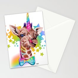 GirrafiCorn Stationery Cards