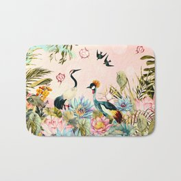 Landscapes of birds in paradise 2 Bath Mat