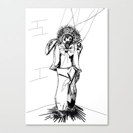 Puppet Man Canvas Print