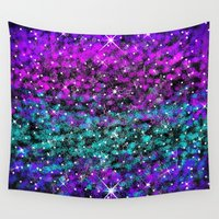 starry night Wall Tapestries featuring Starry Night by 2sweet4words Designs