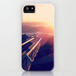 Tasmanian Sunrise iPhone Case