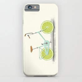 Acid (Blue) iPhone Case