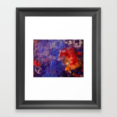 Aerial View of the Deep  Framed Art Print