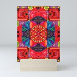Psychedelic Tomato Satori Mini Art Print