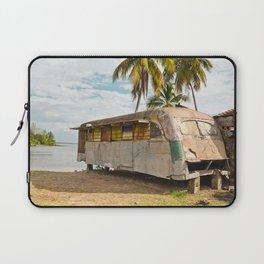 Playa Larga Bus Cuba Beach Hobo House Landscape Tropical Island Home Caribbean Sea Laptop Sleeve