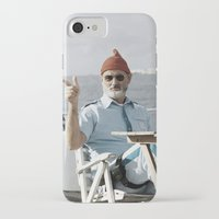 the life aquatic iPhone & iPod Cases featuring LIFE AQUATIC by VAGABOND