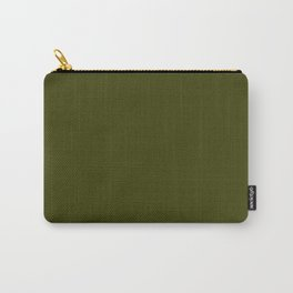 Dark olive Carry-All Pouch