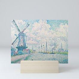 Paul Signac - Canal of Overschie Mini Art Print