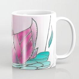 Swan Song in Technicolor Coffee Mug