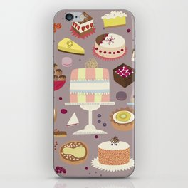 Patisserie Cakes and Good Things iPhone Skin