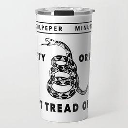 Culpeper Minutemen flag - Authentic version Travel Mug