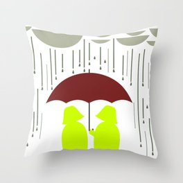 Share my Umbrella Throw Pillow