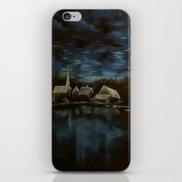 Reflection of souls iPhone Skin