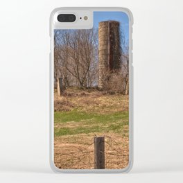 Old Silo Clear iPhone Case
