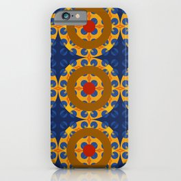 Skookum - Colorful Decorative Abstract Art Pattern iPhone Case