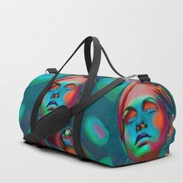 """Psychedelic Pop Fantasy"" (Twiggy II) Duffle Bag"