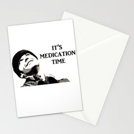 Medication Time! Stationery Cards