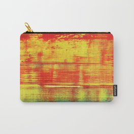 Sunny Sunset, Colorful Abstract Art Carry-All Pouch