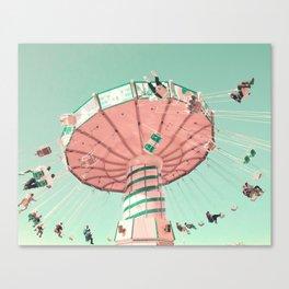 Wide Flight Canvas Print