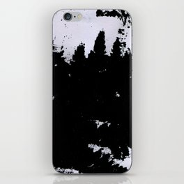 smudge iPhone Skin
