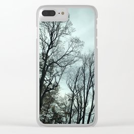 Winter Trees, Pennsylvania Clear iPhone Case