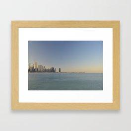 Chicago skyline #1 Framed Art Print