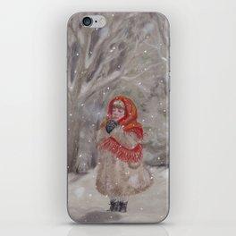 Hiding gnome iPhone Skin