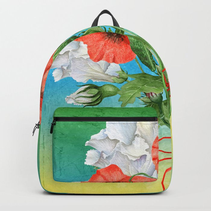 Flowers bouquet #24 Backpack