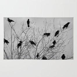 Murder Of Crows - Five Rug