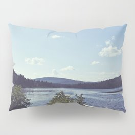 rivers and roads Pillow Sham