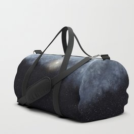 Glowing Moon in the night sky Duffle Bag