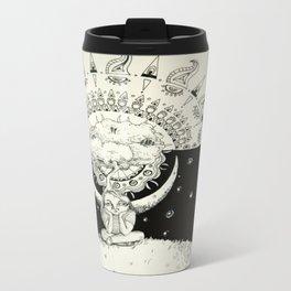 Mandala Girl Travel Mug