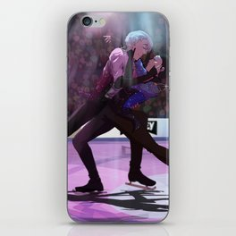 Yuri on ICE final skate iPhone Skin