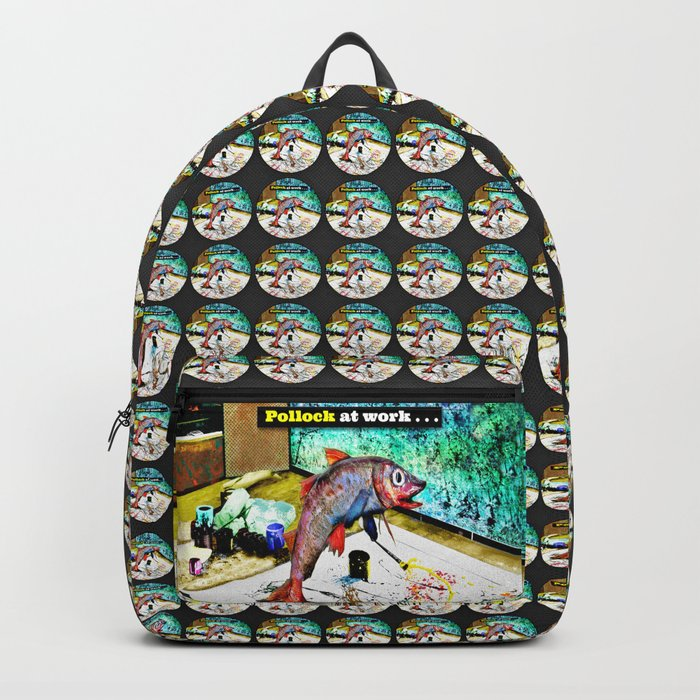 Pollock at Work Backpack