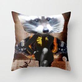 Le Dietrich Bear Throw Pillow