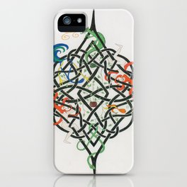 Celtic Life Knot iPhone Case