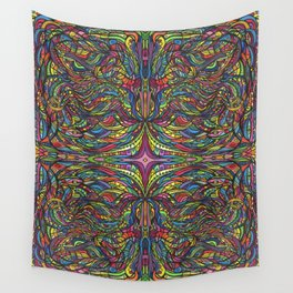Stained Glas Wall Tapestry