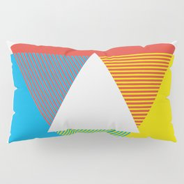 Color Wheel print, Color Chart Rainbow design by Christy Nyboer / Little Lark Pillow Sham