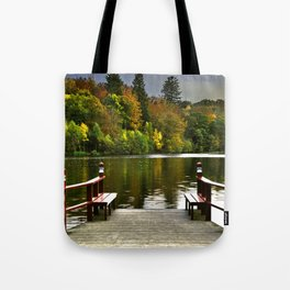 Villa Gallina, Autumn Colors, Denamrk Tote Bag