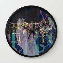 Queen St Toronto Culture Wall Clock