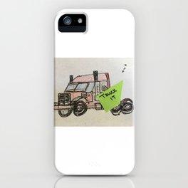 TRUCK IT iPhone Case