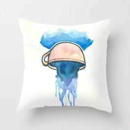 Ocean, tea, space Throw Pillow
