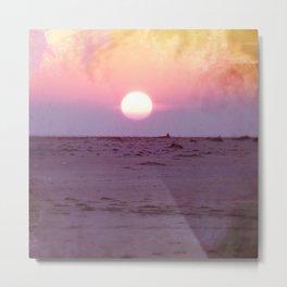 Gulf Islands Sunset Metal Print