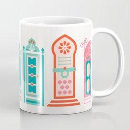 Moroccan Doors – Watermelon Palette Coffee Mug